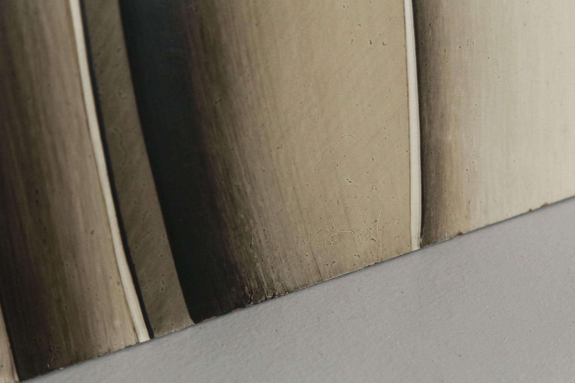 Huile sur panneau Guy dessauges 1977 petit format