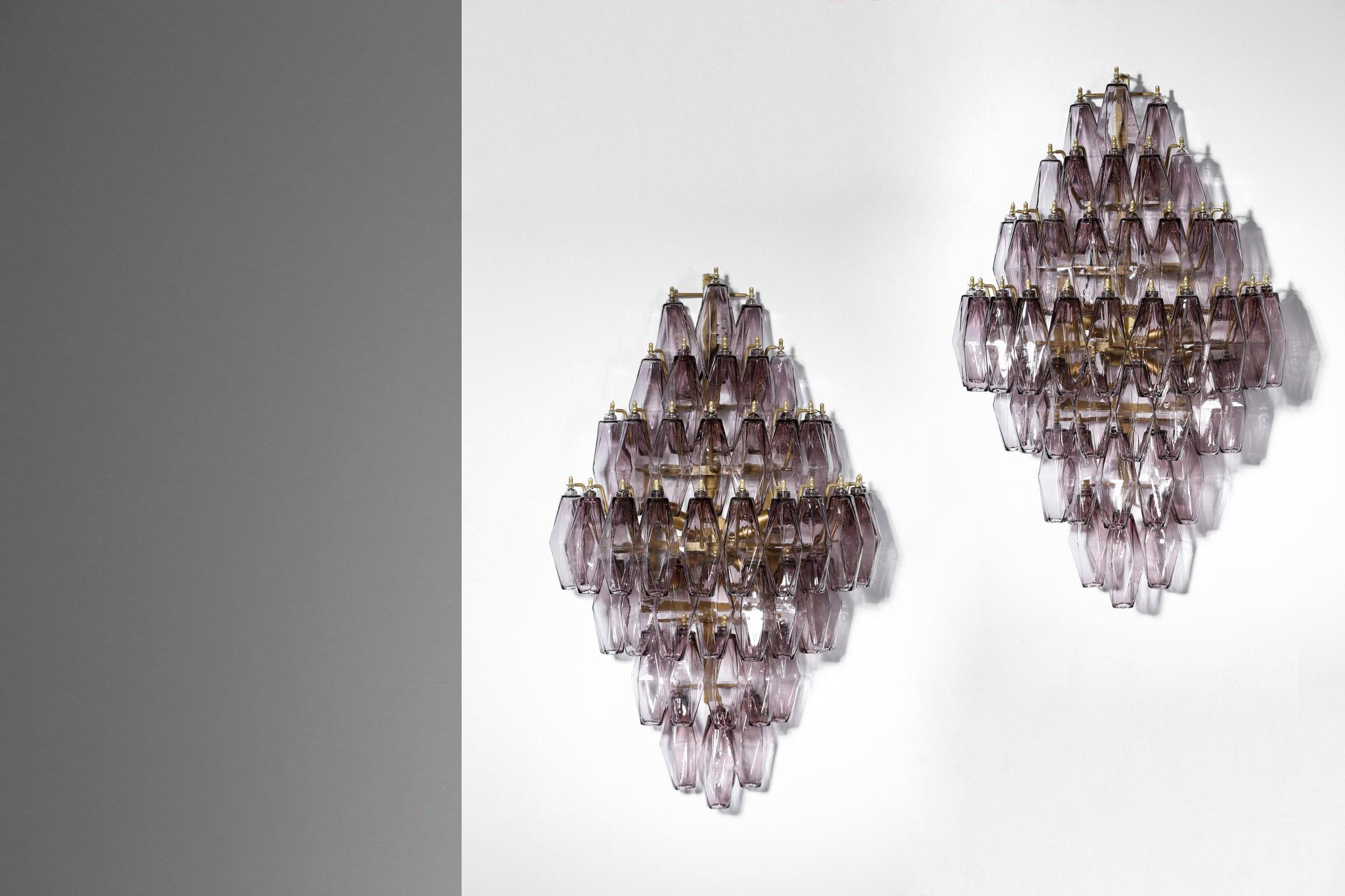 Large italian wall light murano glass customizable u2013 danke galerie
