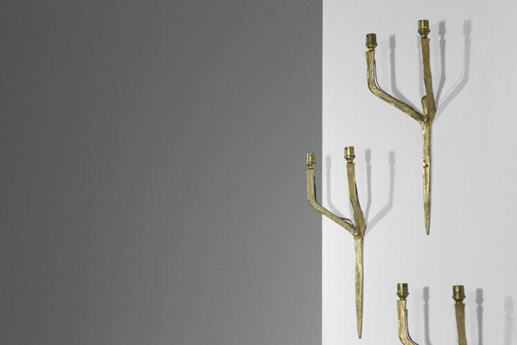 Felix agostini applique suite de 3 vintage design années 609