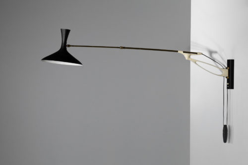 Grande potence Cozak leuchten vintage design arlus applique34