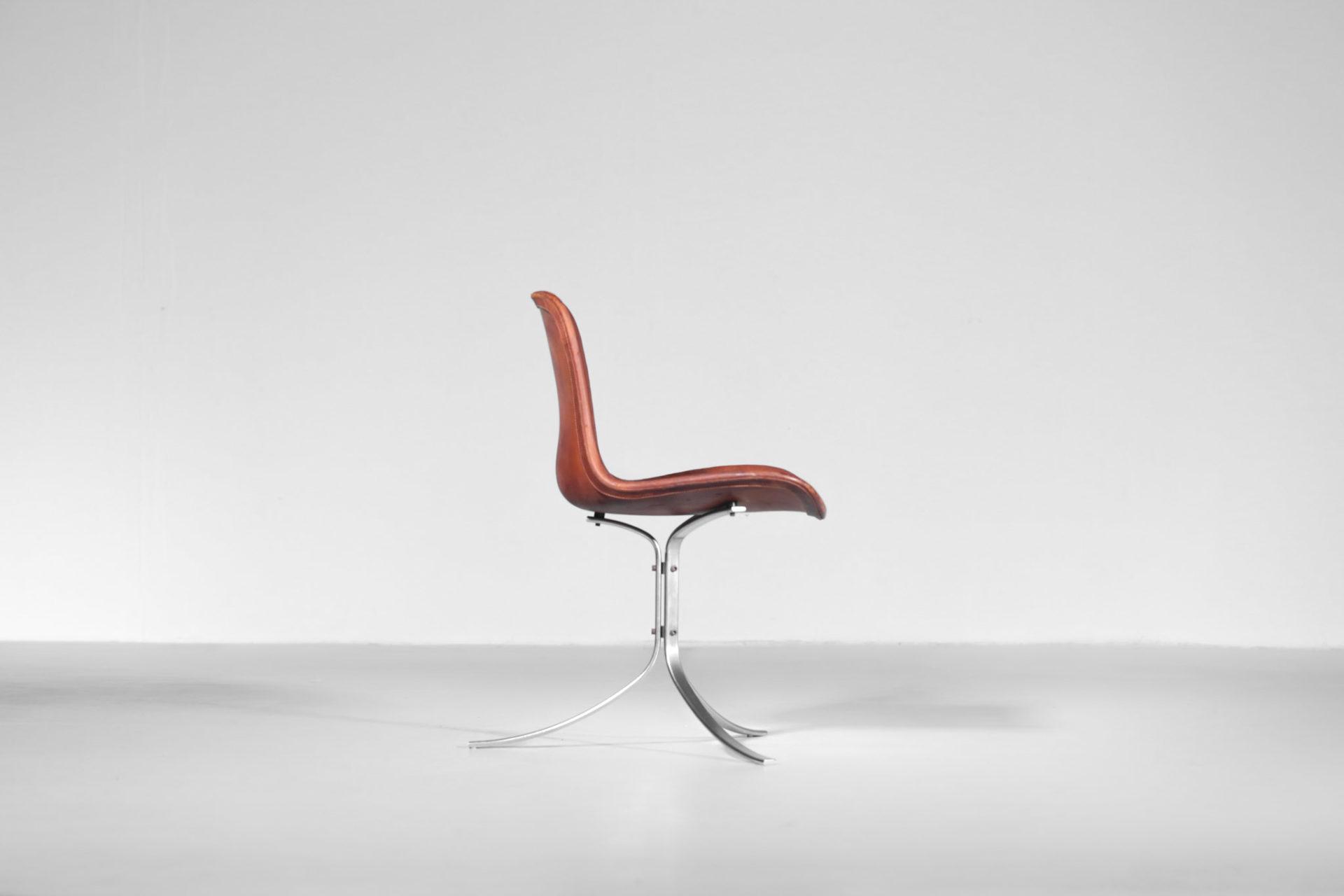 Poul Kjaerholm PK9 chaise design kold Christensen 23