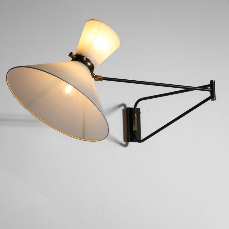 applique potence lunel vintage design années 60 lampe