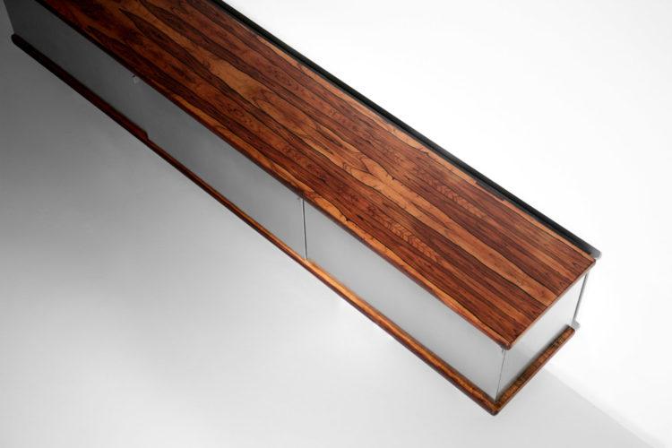 enfilade suspendue osvaldo borsani rare design années 70 vintage22