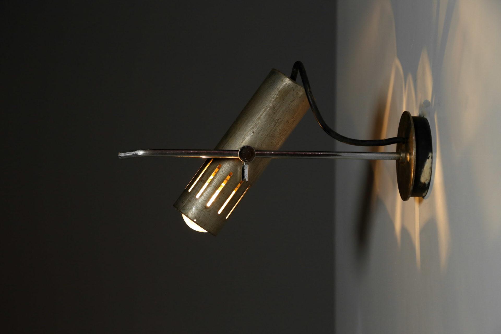 lampe applique alain richard vintage années 60 1