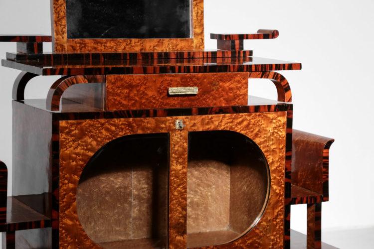 meuble bar des années 40 style ettore sottsass moderniste2