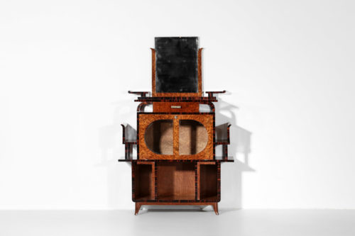 meuble bar des années 40 style ettore sottsass moderniste7