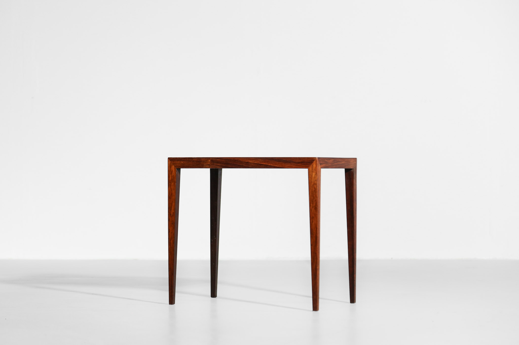 Severin Hansen Side Table In Rosewood Scandinavian Danke Galerie