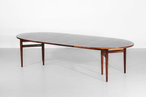 Grande table a manger scandinave Arne vodder 212 danois palissandre25