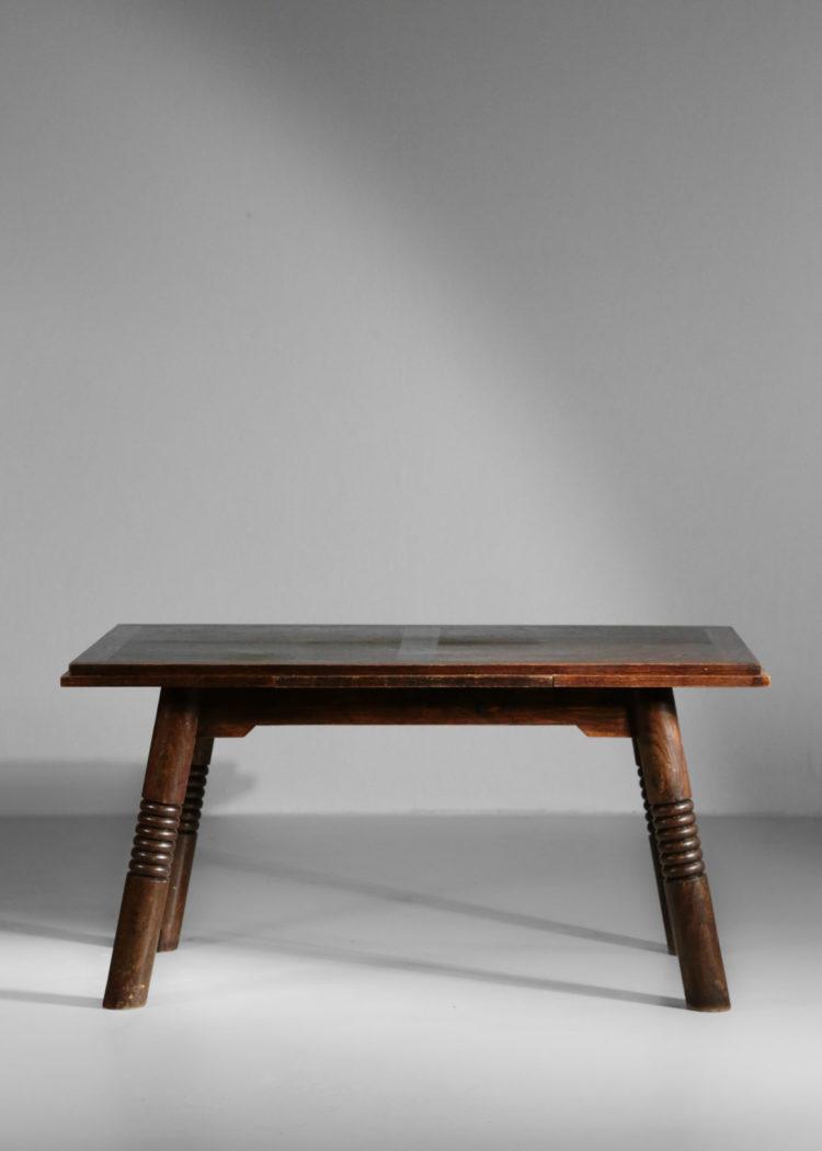 table à manger style charles Dudouyt art deco moderniste27