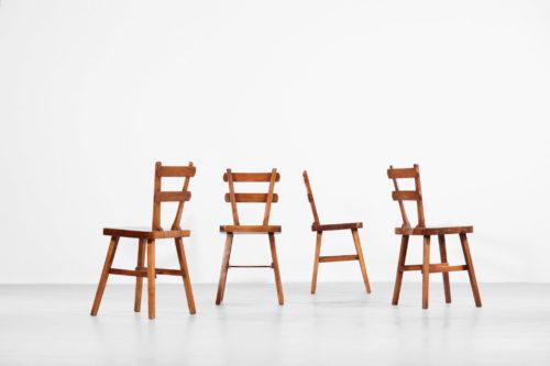 4 chaises rustique design francais atelier marolles ebeniste francais27