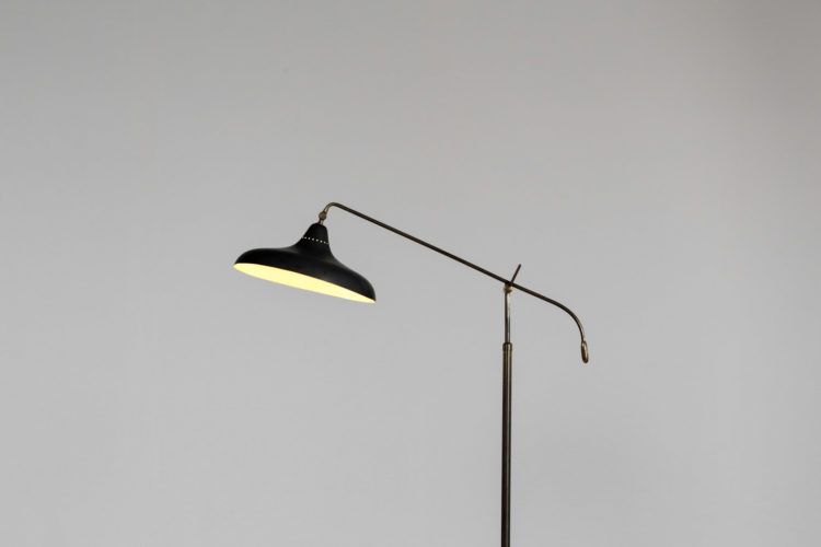 Lampadaire italien des années 60 balancier stilnovo