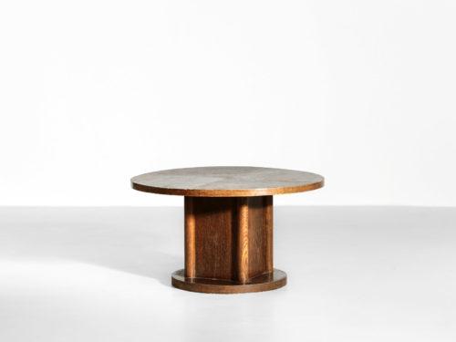 table basse des années 40 en chêne moderniste22