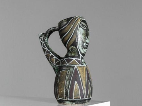 Pichet ceramique accolay vintage années 5022Pichet ceramique accolay vintage années 5022