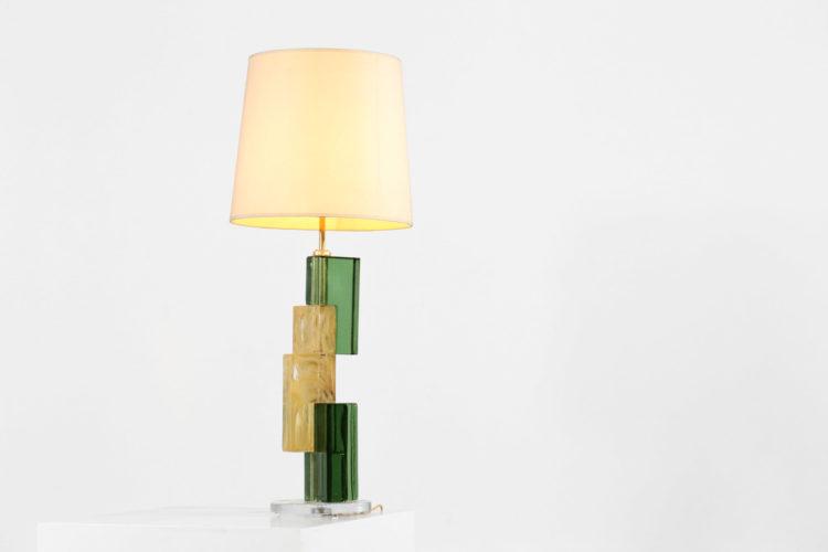 lampe de bureau en verre de murano cube28