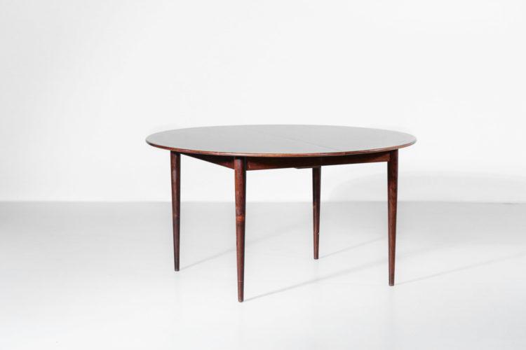 table à manger danoise grete jalk palissandre de rio scandinave