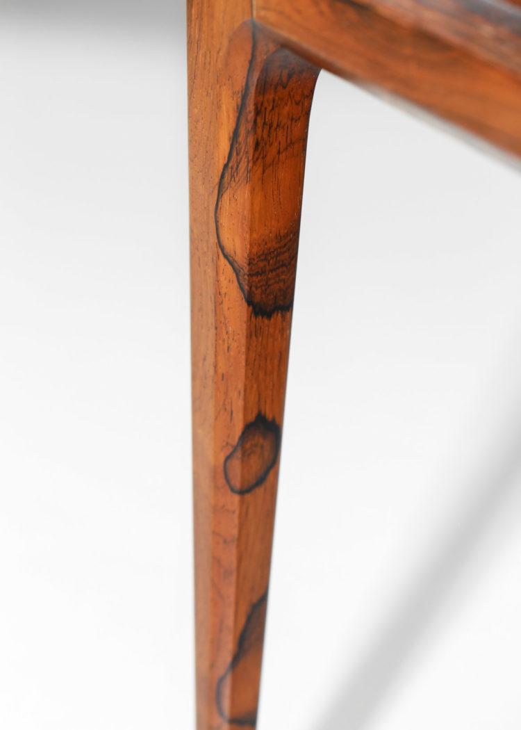 Table basse danoise johannes Andersen en palissandre de rio 9