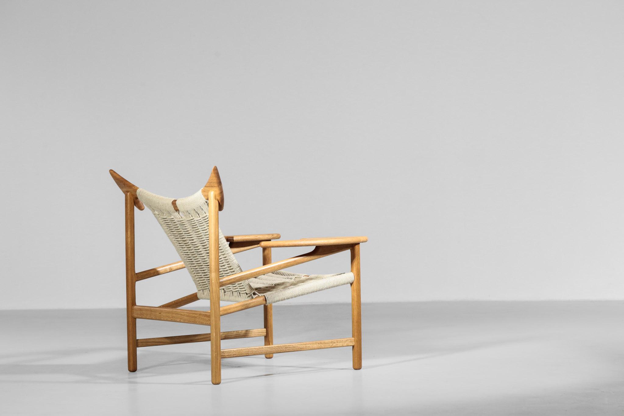Modern Design Fauteuils.Modern Easy Chairs Model Bull Handcrafted Danish
