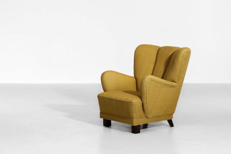 fauteuil danois des années 60 scandinave fritz hansen1