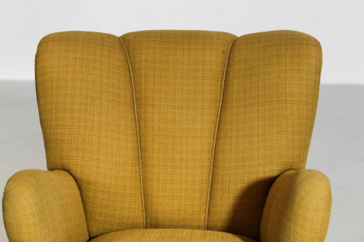 fauteuil danois des années 60 scandinave fritz hansen