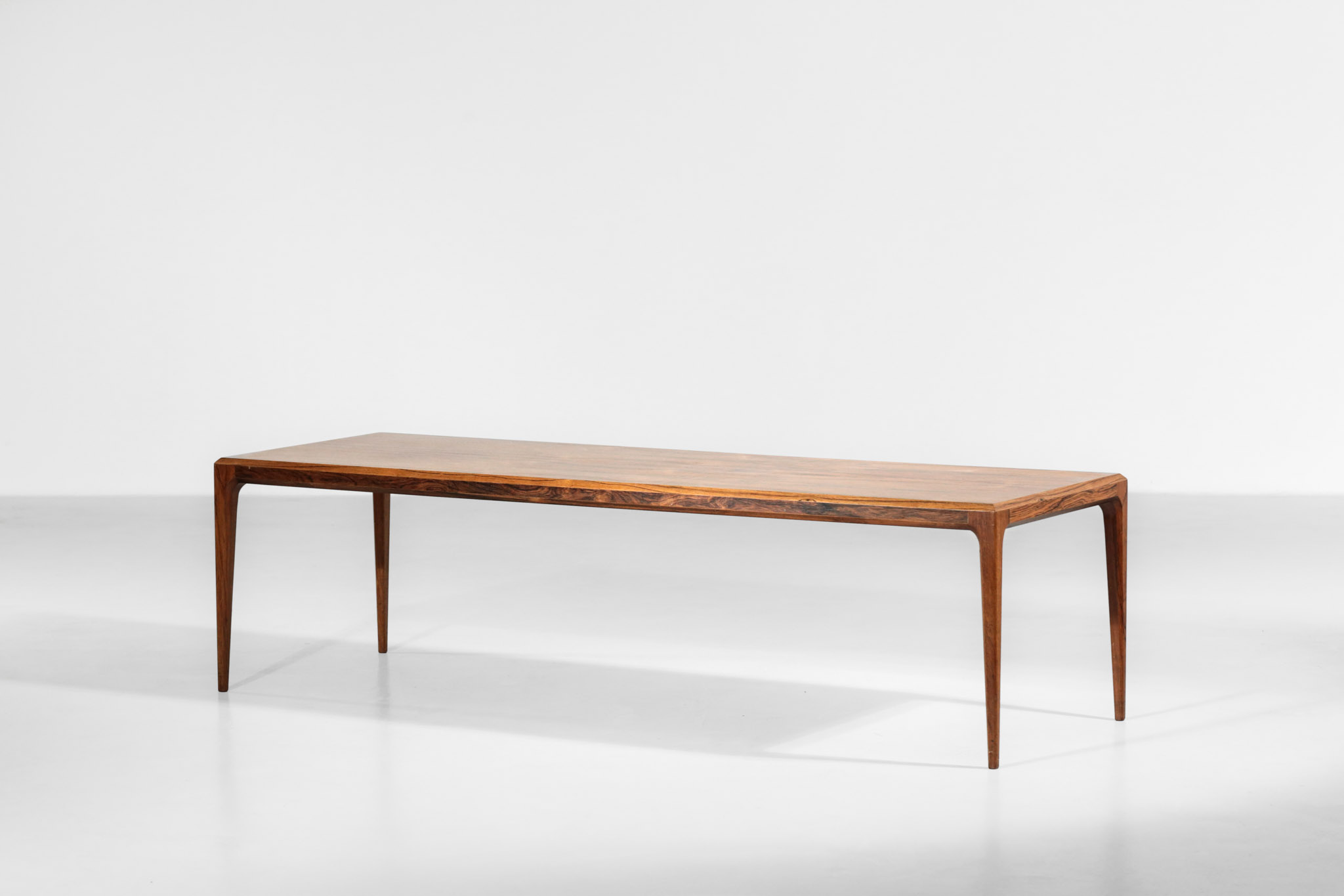 Large Johannes Andersen Coffee Table In Rosewood 1960s Danke Galerie