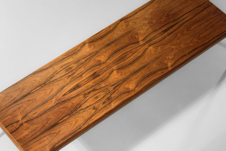 grande table basse johannes andersen silkeborg palissandre de rio