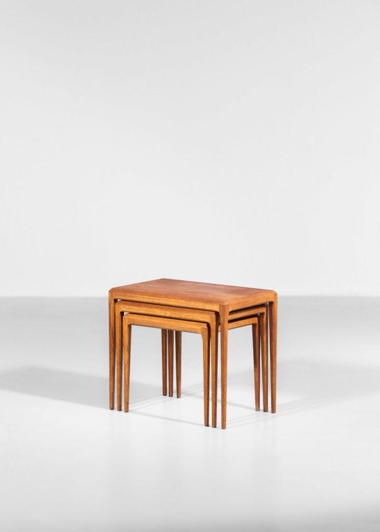 tables gigognes johannes andersen teck scandinave danoise
