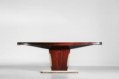 Table à manger vittorio dassi italian design vintage 23