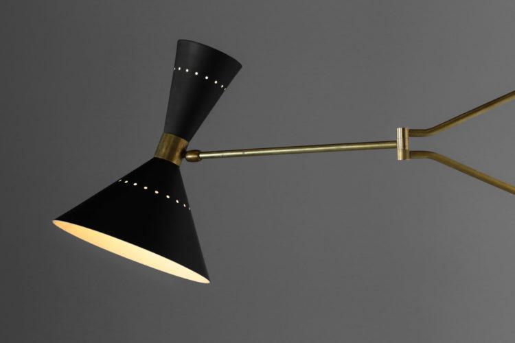 applique potence noir diabolo italenne vintage design guariche pierre