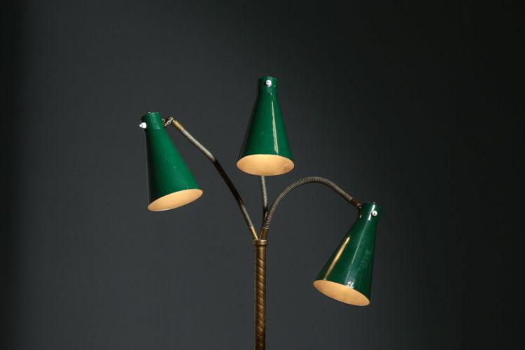 lampadaire italien giuseppe ostuni attr. des années 50 60 vintage design