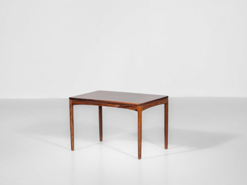 petite table basse danoise scandinave années 60 edmund jorgensen palissandre2