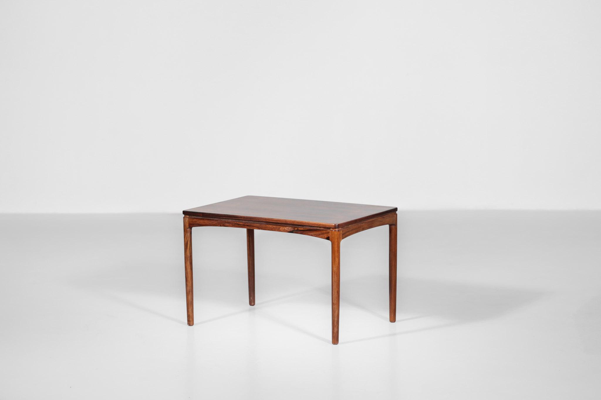 Rosewood Coffee Table By Edmund Jorgensen 1960s Scandinavian Danke Galerie
