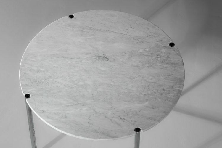 table à manger USM haller marbre de carrare vintage design5