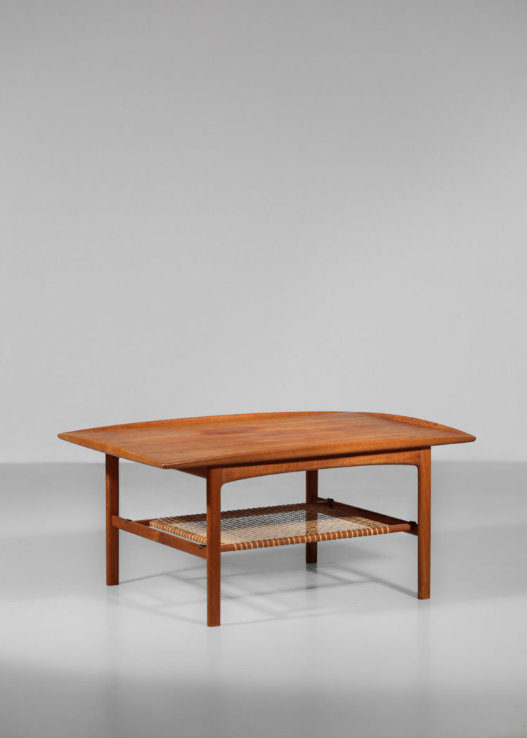 table basse FOLKE OHLSSON COFFEE frisco BRA BOHAG TINGSTRÖMS années 60