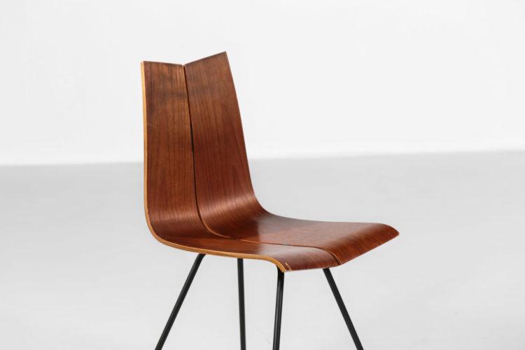 chaise hans bellmann suisse design années 60 10