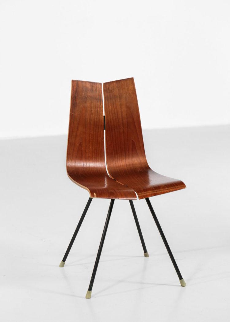 chaise hans bellmann suisse design années 60