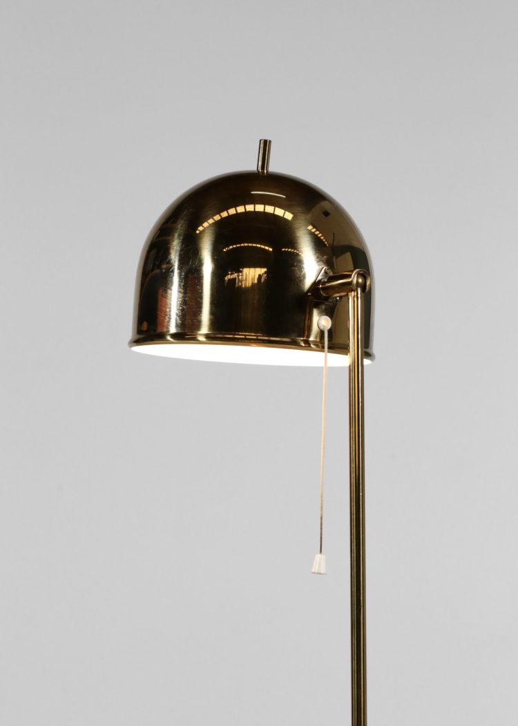 lampadaire suedois bergboms G-075 laiton années 60