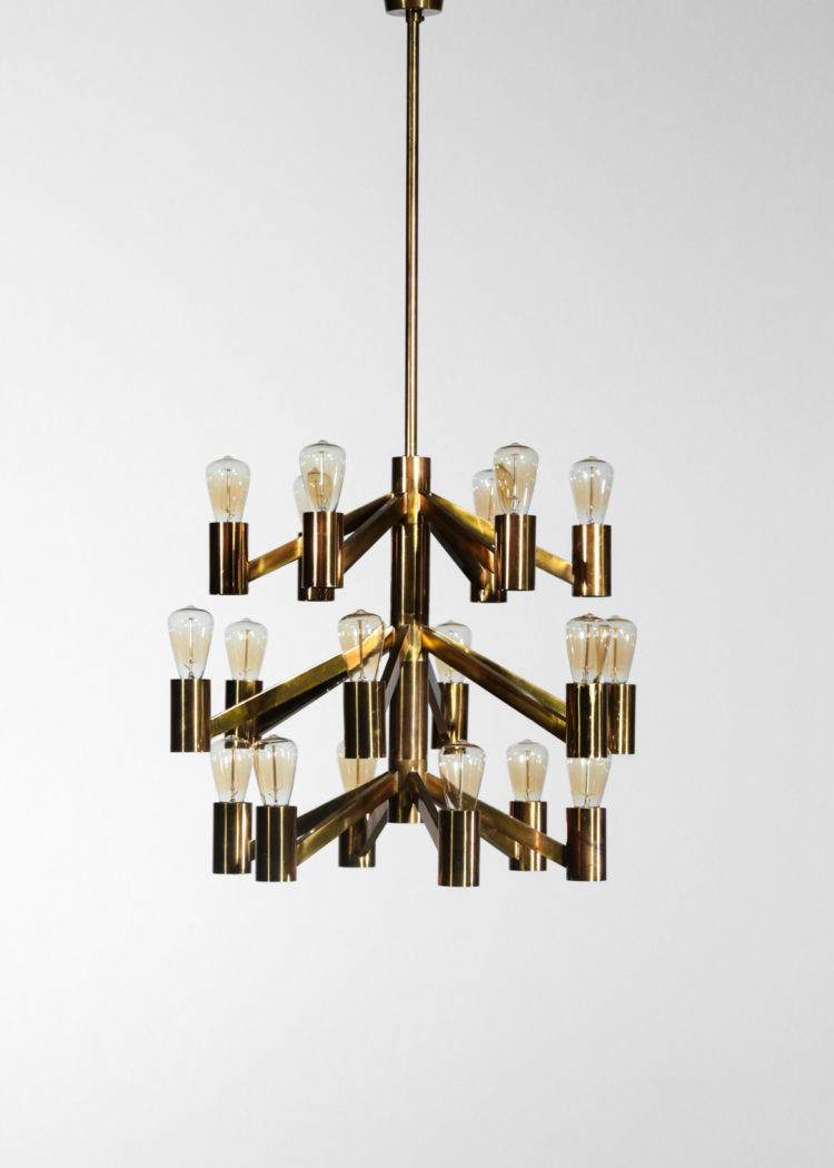 lustre suédois axel annell Lystral scandinave laiton 6