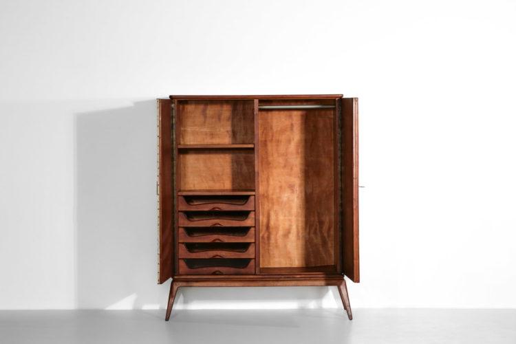 penderie italienne années 60 gio ponti meuble tissus