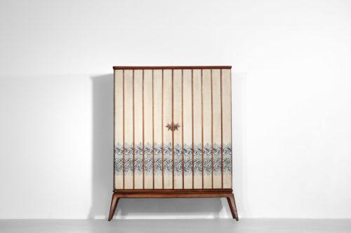 penderie italienne années 60 gio ponti meuble tissus8