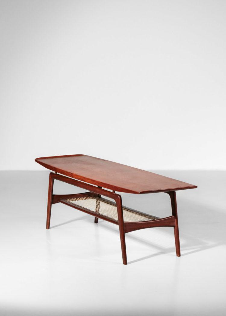 table basse danoise arne hovmand olsen vintage scandinave hans teck 5