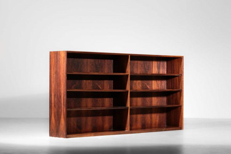 bibliotheque arne vodder danoise scandinave palissandre de rio vintage design3