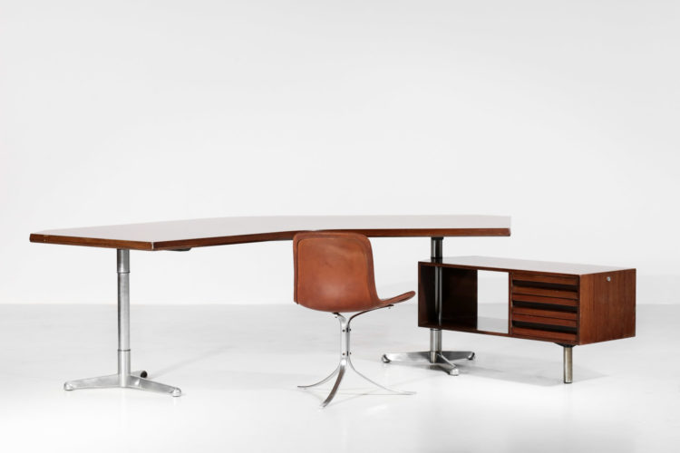 bureau Osvaldo Borsani italien pour tecno années 60