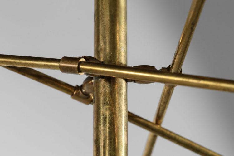 lustre balancier moderne dans le gout de stilnovo vintage contrepoids