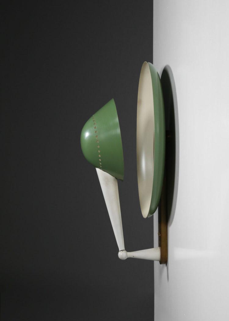 paire d'appliques stilnovo model B4917 années 60 italien design