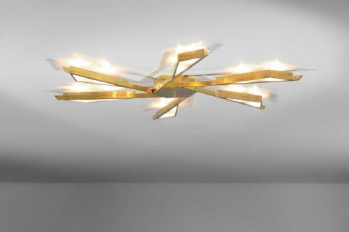 plafonnier elypsa moderne style arredoluce angelo lelli