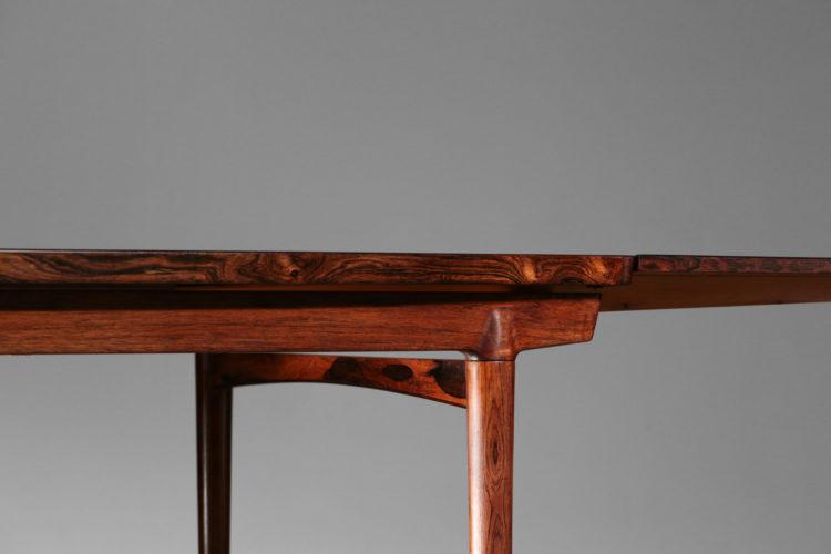table à manger danoise scandinave erik riisager palissandre de rio 23
