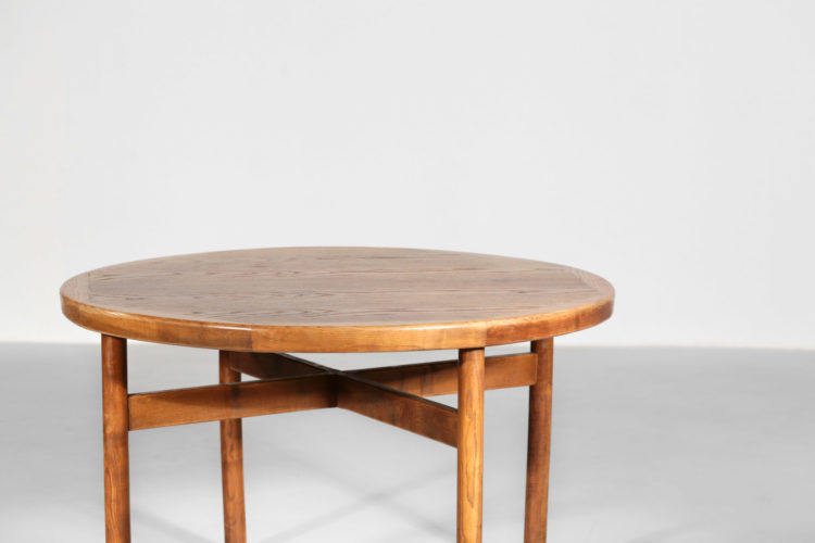 table à manger sentou charlotte perriand vintage design années 50 9