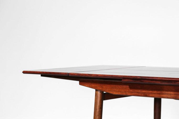 table à manger danoise scandinave en palissandre de rio 4