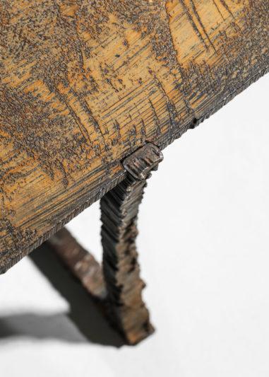 Studio Danke Galerie table basse creation Bryan parlati fer forgé bronze44