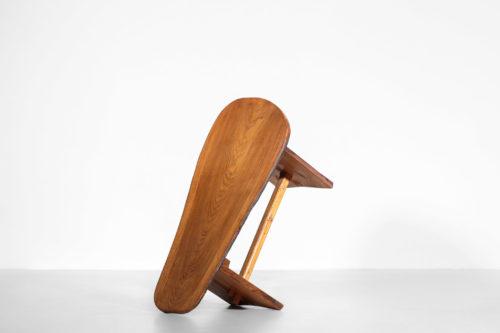 table basse rustique forme libre en pin massif6